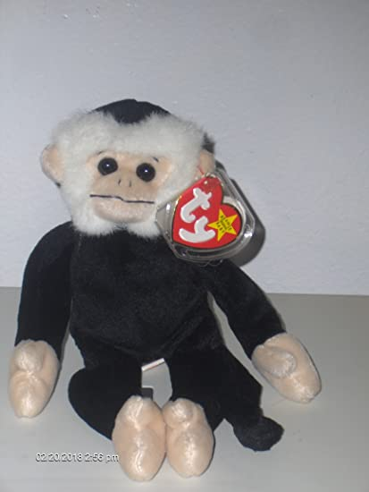 Amazon.com  TY Beanie Babies Mooch the Spider Monkey Stuffed Animal Plush  Toy - 9 inches tall by SmartBuy  Toys   Games 9f550a9d3042