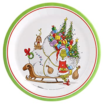 The Grinch Christmas Party.Amazon Com Birthdayexpress Dr Seuss The Grinch Christmas