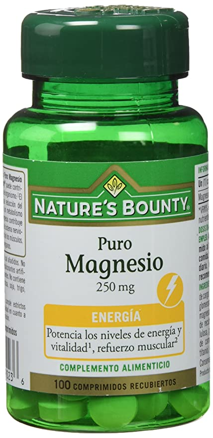 Natures Bounty Magnesio 250 Mg - 100 Comprimidos