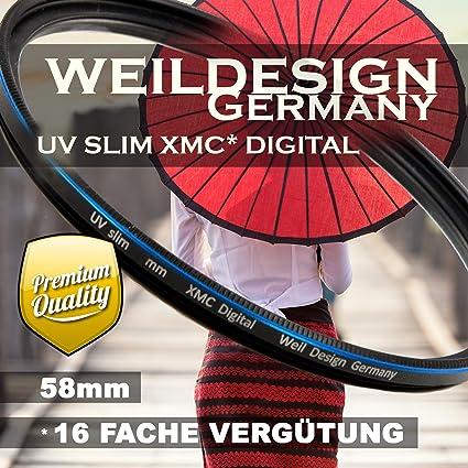 Uv Filter 58 Mm Weildesign Slim Xmc Digital Weil Design Kamera