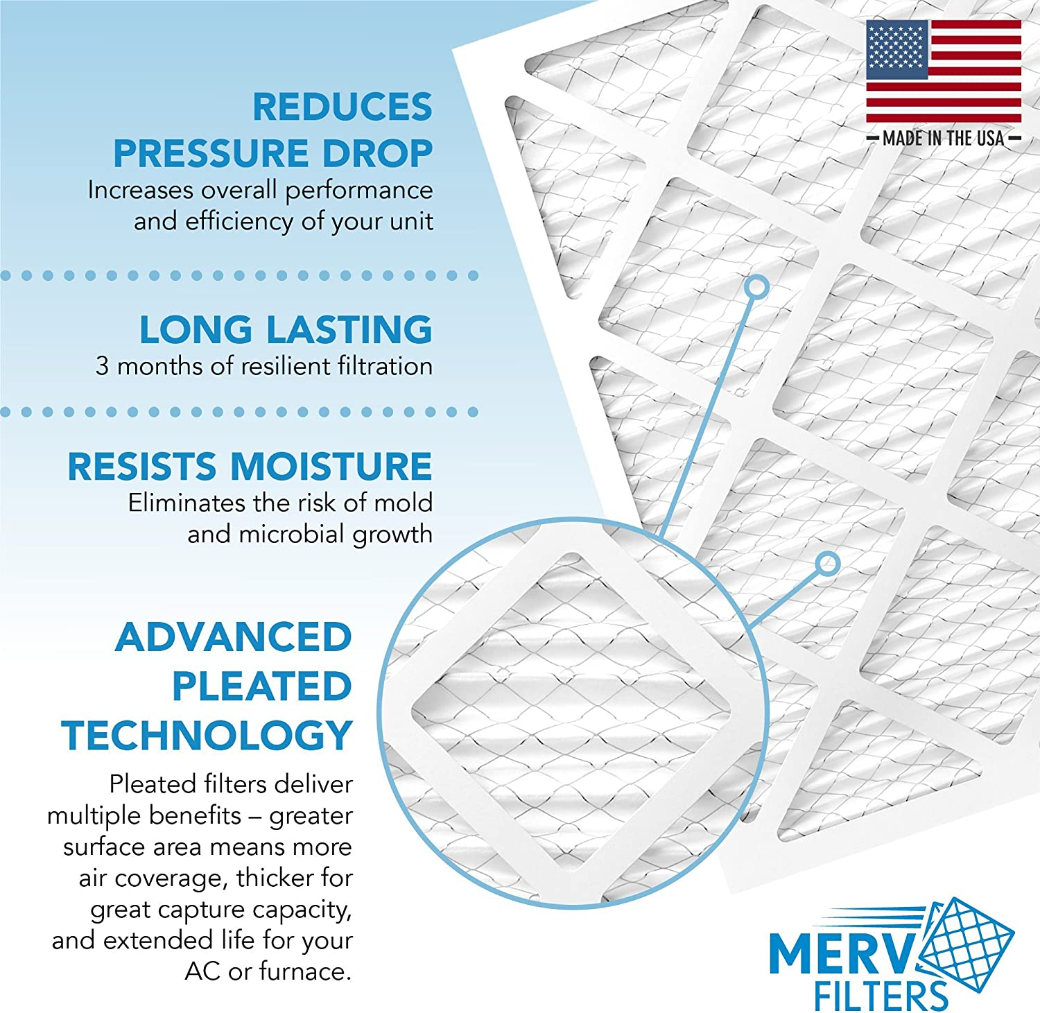 MPR 600 - AC Furnace Air Filters