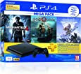 Sony PS4 1 TB Slim Console (Free Games: God of War/Uncharted 4/Horizon Zero Dawn)