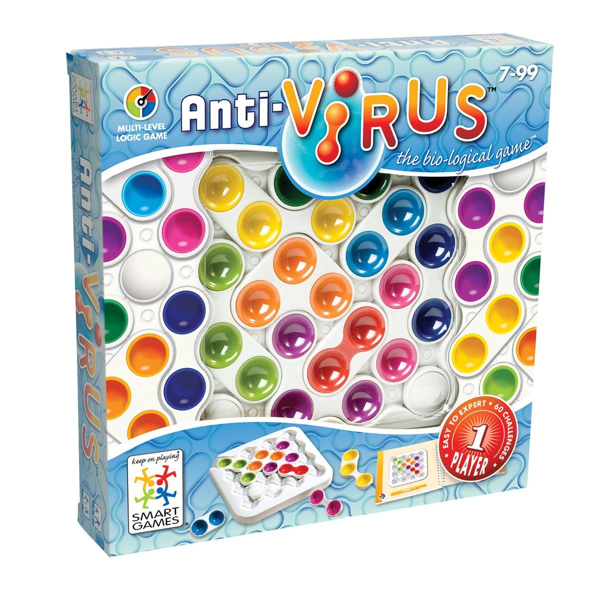 Smart - Anti-Virus, juego de ingenio con retos (51406): Amazon.es: Juguetes y juegos