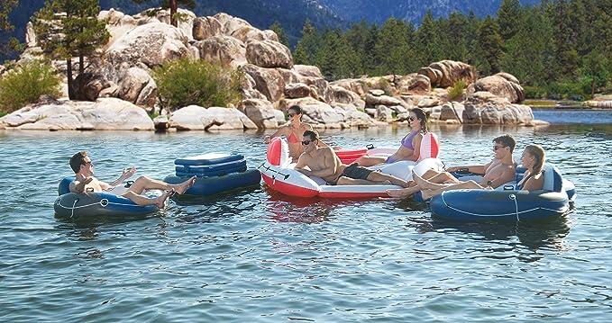 Amazon.com: Intex Marina Breeze Island Raft + Oasis Island ...