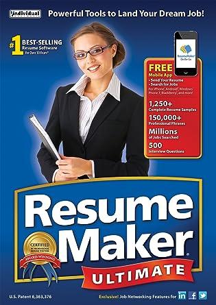 Amazon.com  ResumeMaker Ultimate 6  Download   Software aa53a1315