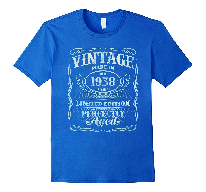 Vintage T Shirt Birthday Limited Asphalt