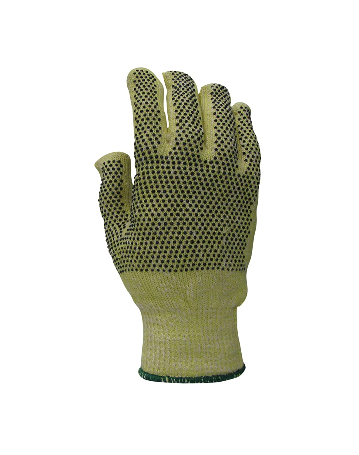 7 Pack of 12 Magid Glove /& Safety NT73BKVPR-7 Nitrile-Dotted para-Aramid Blend Terry Glove Yellow
