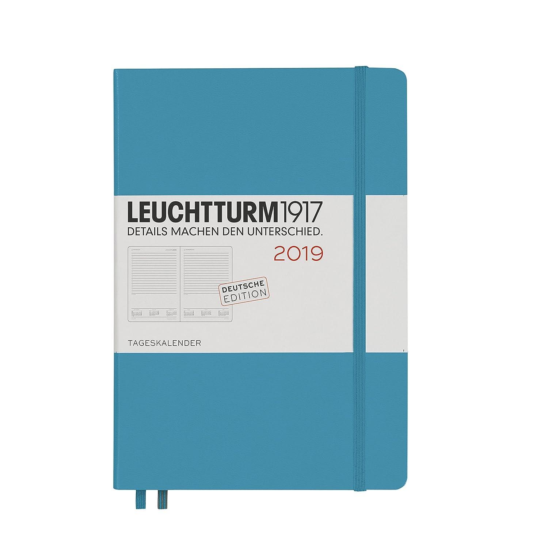Leuchtturm1917 357779 Día Calendario 2019, Alemán, Medium ...