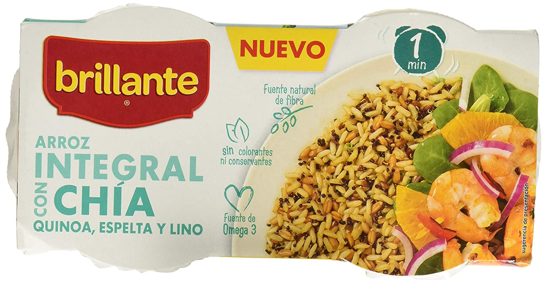 ARROZ INTEGRAL CON CHÍA, QUINOA, ESPELTA Y LINO: Amazon.es: Alimentación y bebidas