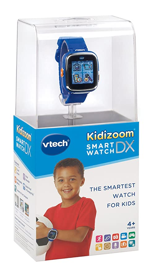 Amazon.com: VTech Kidizoom Smartwatch DX - Royal Blue ...