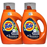 Tide Plus Febreze Sport Active Fresh Scent HE Turbo Clean Liquid Laundry Detergent, 46 oz, 29 Loads (Packaging May Vary)