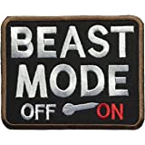 """SpaceAuto Beast Mode On Military Tactical Morale Badge Patch 3.5"""" x 2.75"""""""