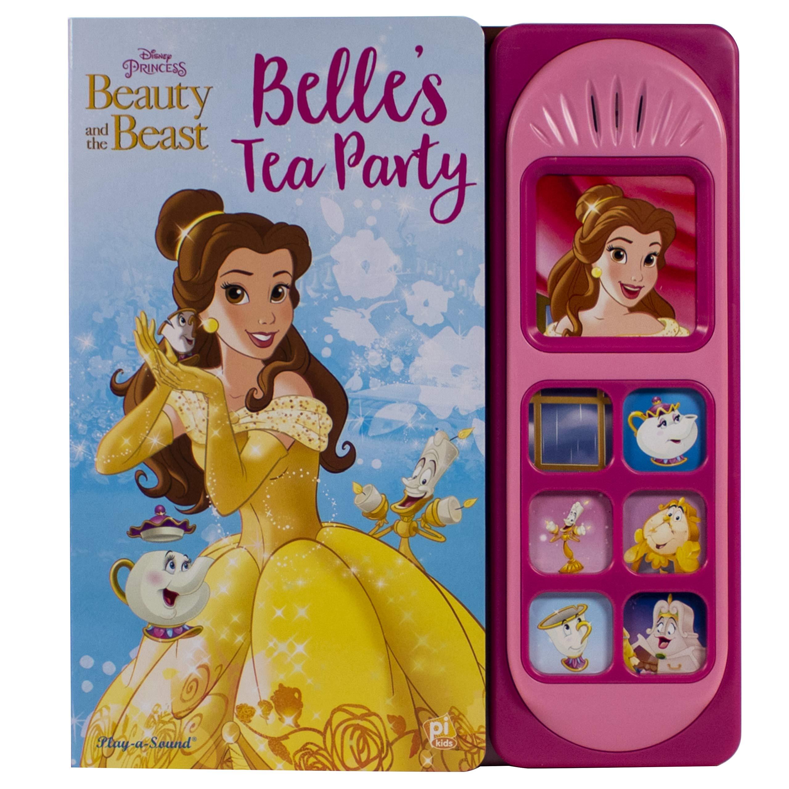 Disney Princess Beauty And The Beast Belle S Tea Party Little Sound Book Pi Kids Oliver Bieber Editors Of Phoenix International Publications Disney Storybook Art Team Disney Storybook Art Team 9781503732735