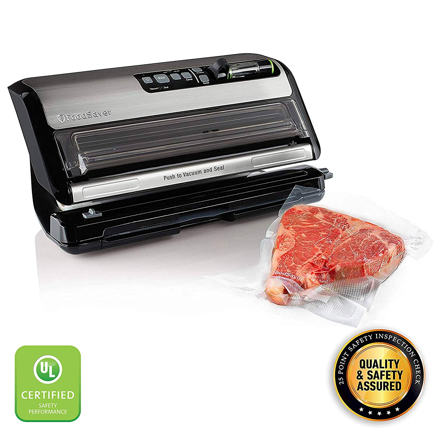 FoodSaver FM5200 2-in-1 Automatic Vacuum Sealer