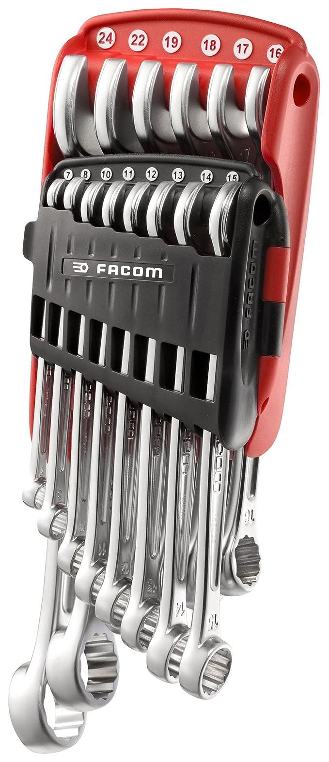 Facom  440JP14PB Jeu de 14 clés mixtes