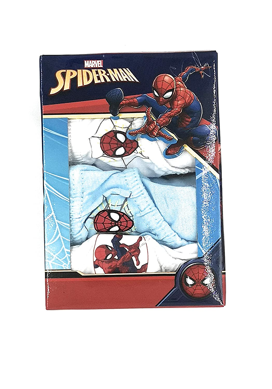 MERVEL Tris Slip Spider-Man CONFEZINE da 3 Slip