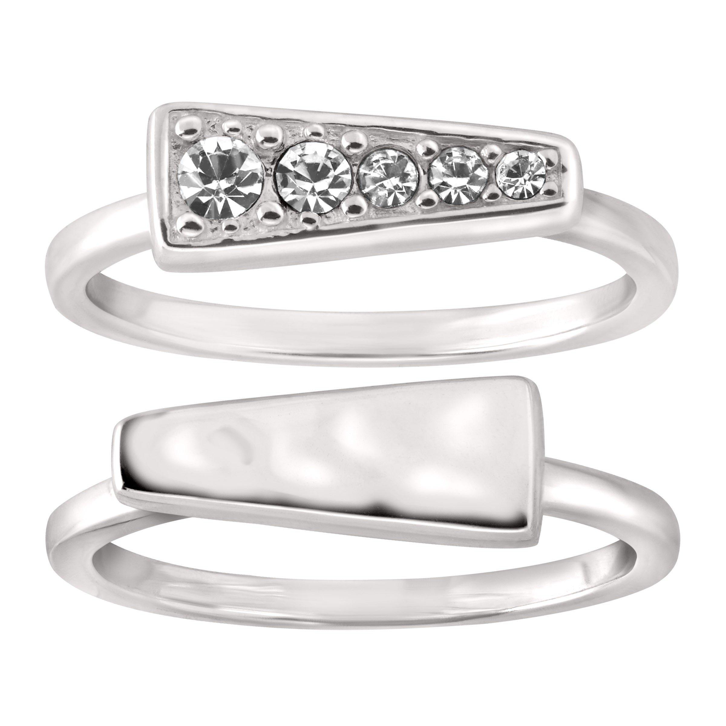 Silpada 'Spotlight Stack' Sterling Silver Rings, Size 8