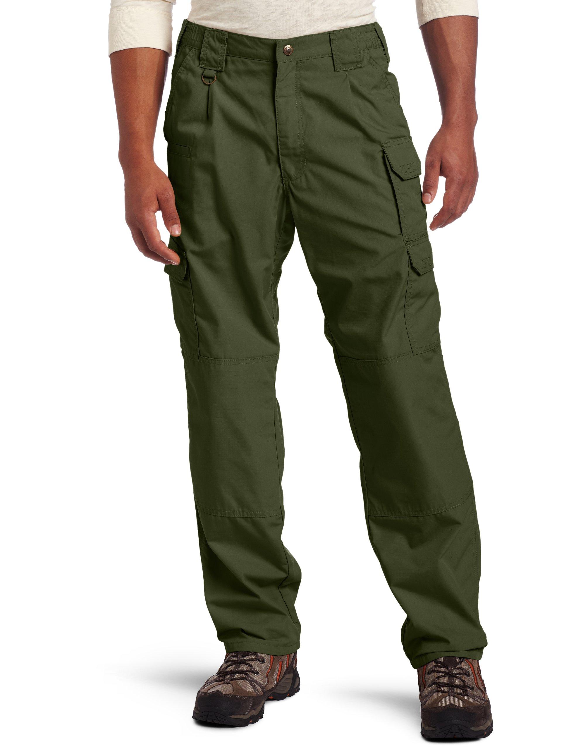 5.11 Men's TACLITE Pro Tactical Pants, Style 74273, TDU Green, 34Wx36L