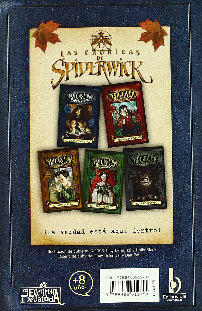 Spiderwick I, El Libro Fantastico (spiderwick Las Cronicas) (spanish  Edition): Tony Diterlizzi, Holly Black, Carlos Abreu Fetter: 9788466612791:  Amazon: