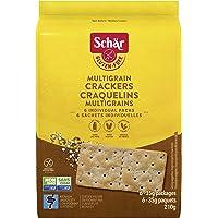 Schar Gluten-Free Multigrain Crackers - Non GMO, Lactose Free, Gluten-Free Saltine Crackers, 6 Individually Wrapped…