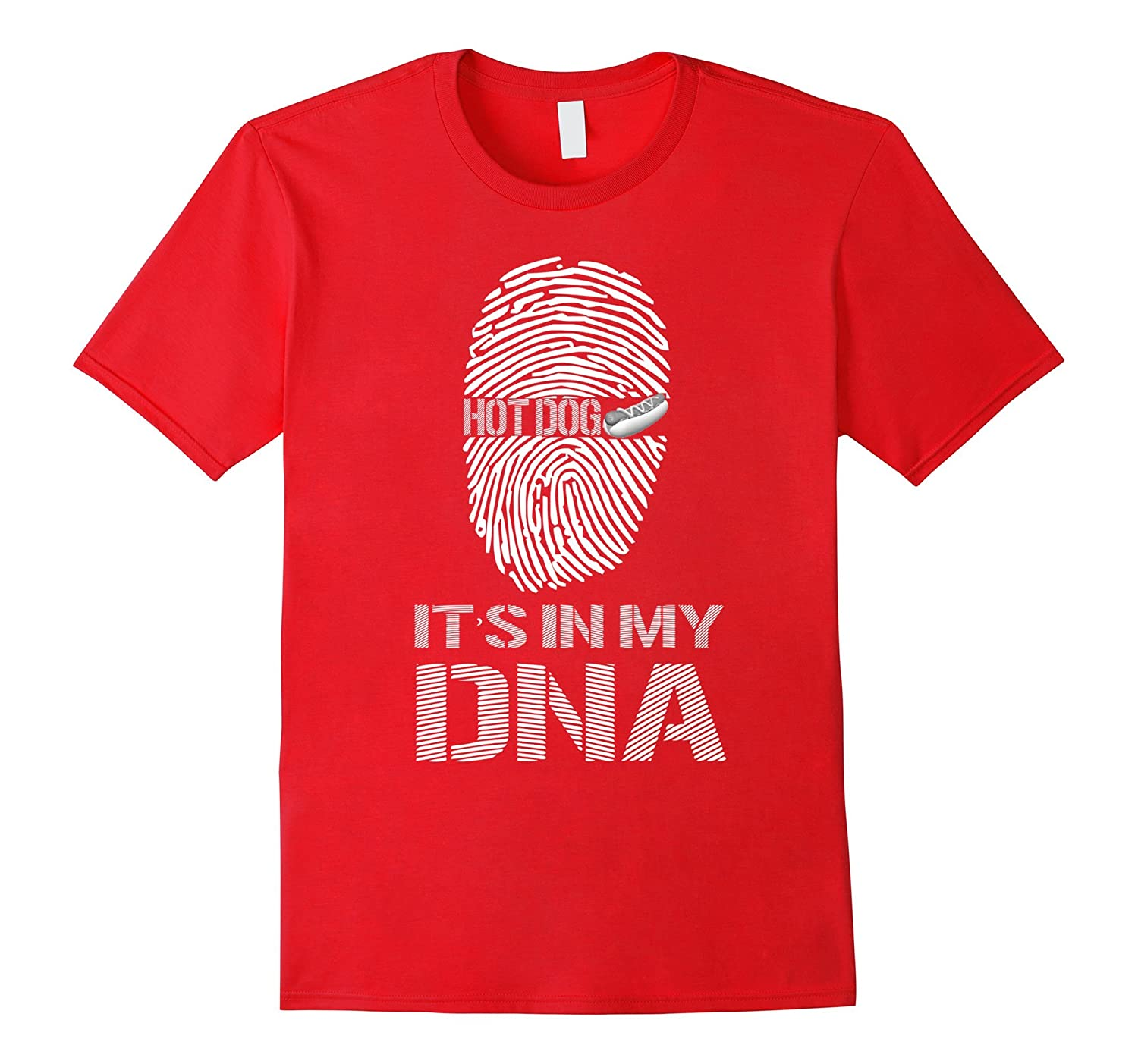 Hot Dogs It's In My DNA T-Shirt-FL