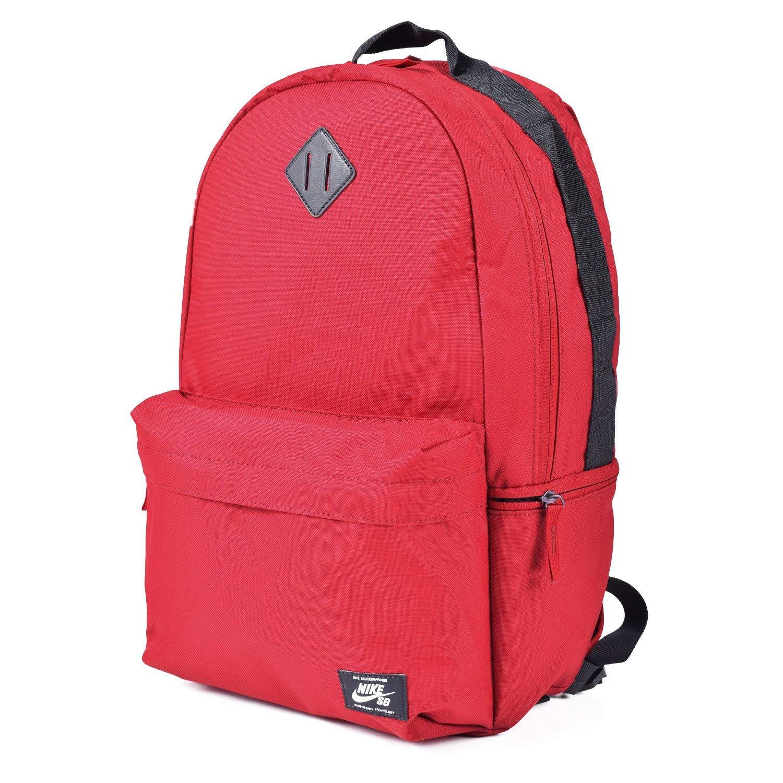 Nike SB Icon Backpack, Red CrushBlackWhite, One Size