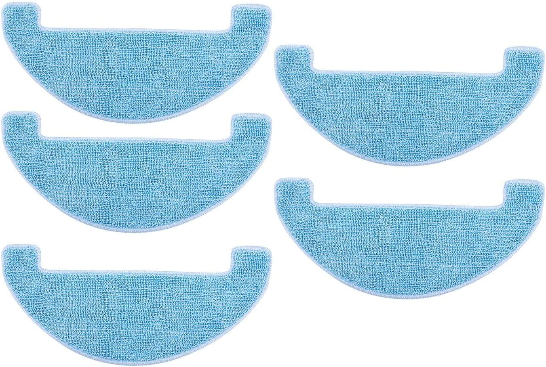 TOOGOO Reemplazo de 5 Piezas de Limpieza para Limpiar El Trapeador de Ilife V80, V8S, X800, X750, X787, X785 Aspirador Robotizado Piezas Accesorios: Amazon.es: Hogar