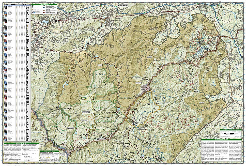 Our Avery County: Living in the Pisgah National Forest ... |Pisgah National Forest Map