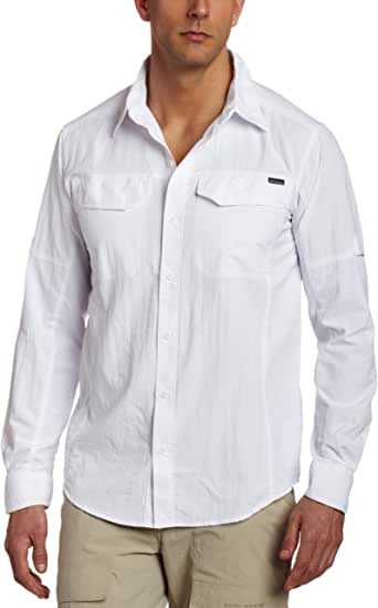 Columbia Men's Silver Ridge Long-Sleeve Shirt, Moisture Wicking