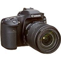 Canon EOS 80D EF-S 18-135 is Nano USM Spiegelreflexkamera schwarz