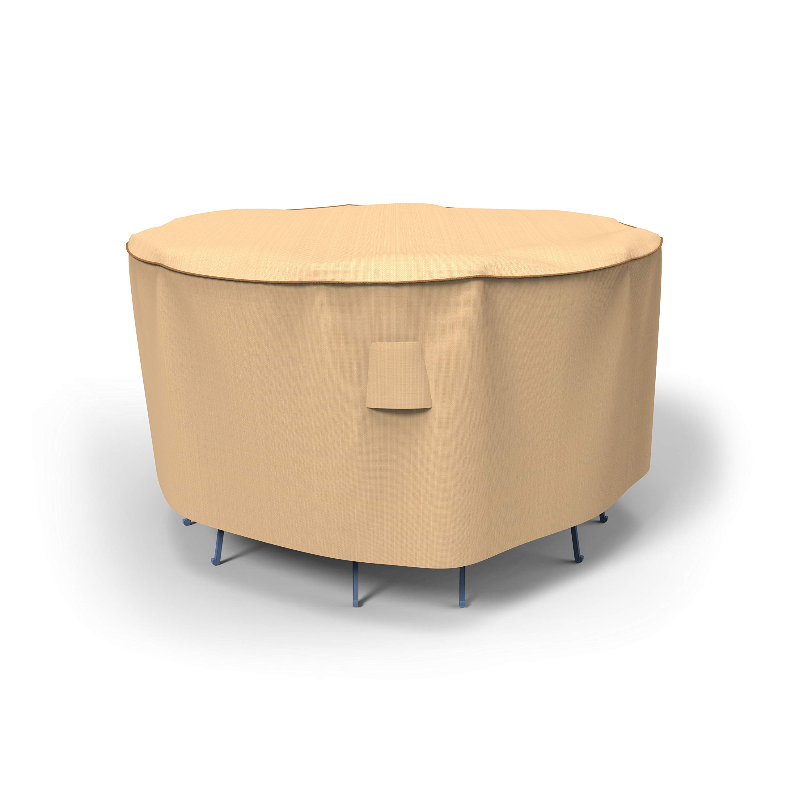 EmpirePatio Select Tan Patio Bar Table and Chairs Cover, 80'' Diameter x 42'' Drop by EmpireCovers