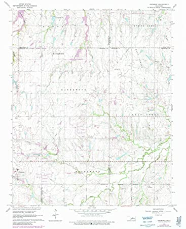 Amazon Com Yellowmaps Piedmont Ok Topo Map 1 24000 Scale 7 5 X