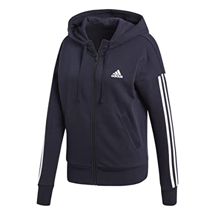 3 Veste Femme Adidas Streifen Zip Full Essentials WDIeH2b9EY