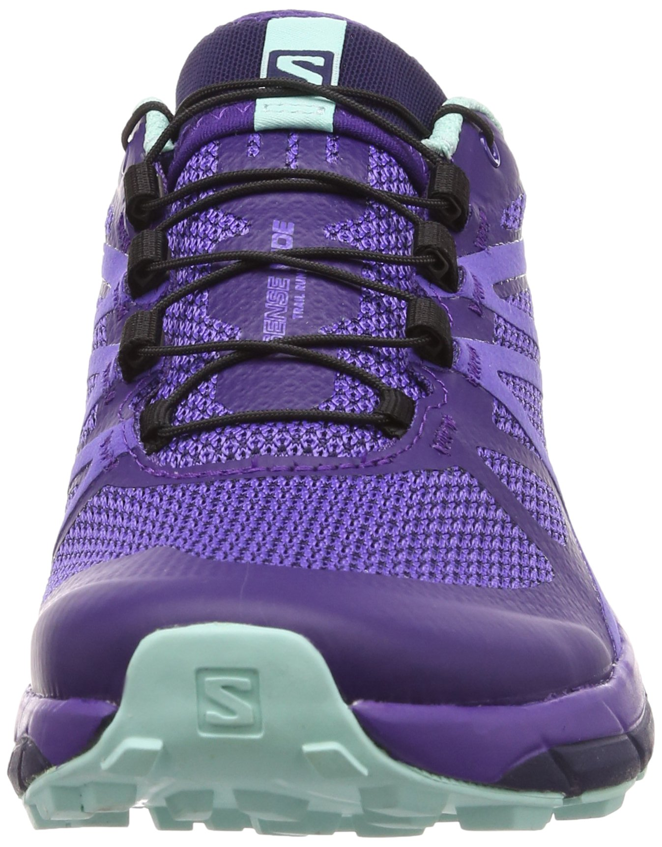 Salomon Women's Sense Ride Running Shoes, Purple, 6.5 M by Salomon (Image #4)