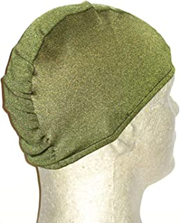 product image for Extra Large Olive Lycra Swim Cap (XL)