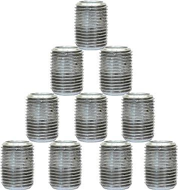 10-Pack Plumbers Choice 92784 1-1//2-Inch x 3-1//2-Inch Galvanized Nipple