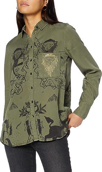 Desigual CAM_lionslove Camisa para Mujer