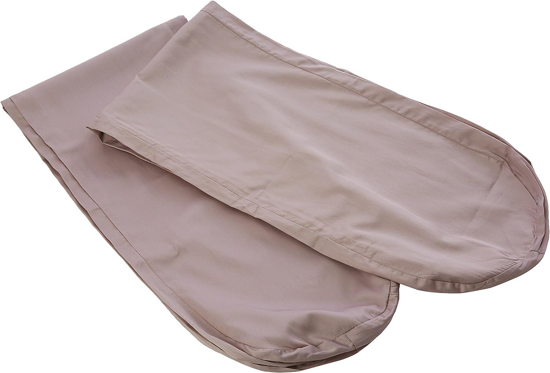 Mikoala Body Pillow, Microfibre, Taupe