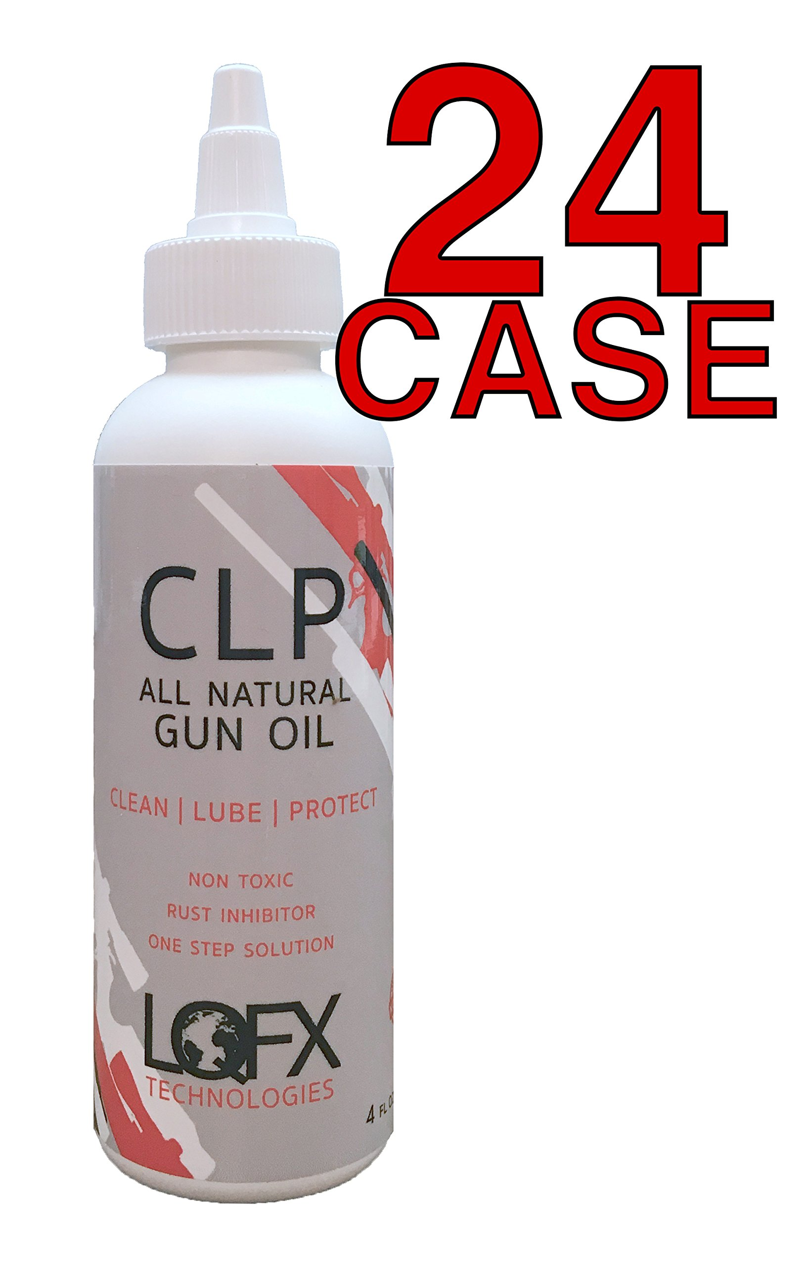Liquifix LQFX Technologies CLP All Natural Gun Oil 4oz CASE of 24 by Liquifix