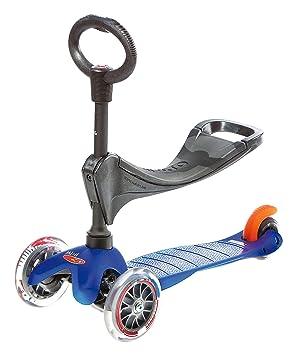 Micro Mobility Mini 3in1 - Scooters (Niños, Asphalt, Azul, Poliuretano)