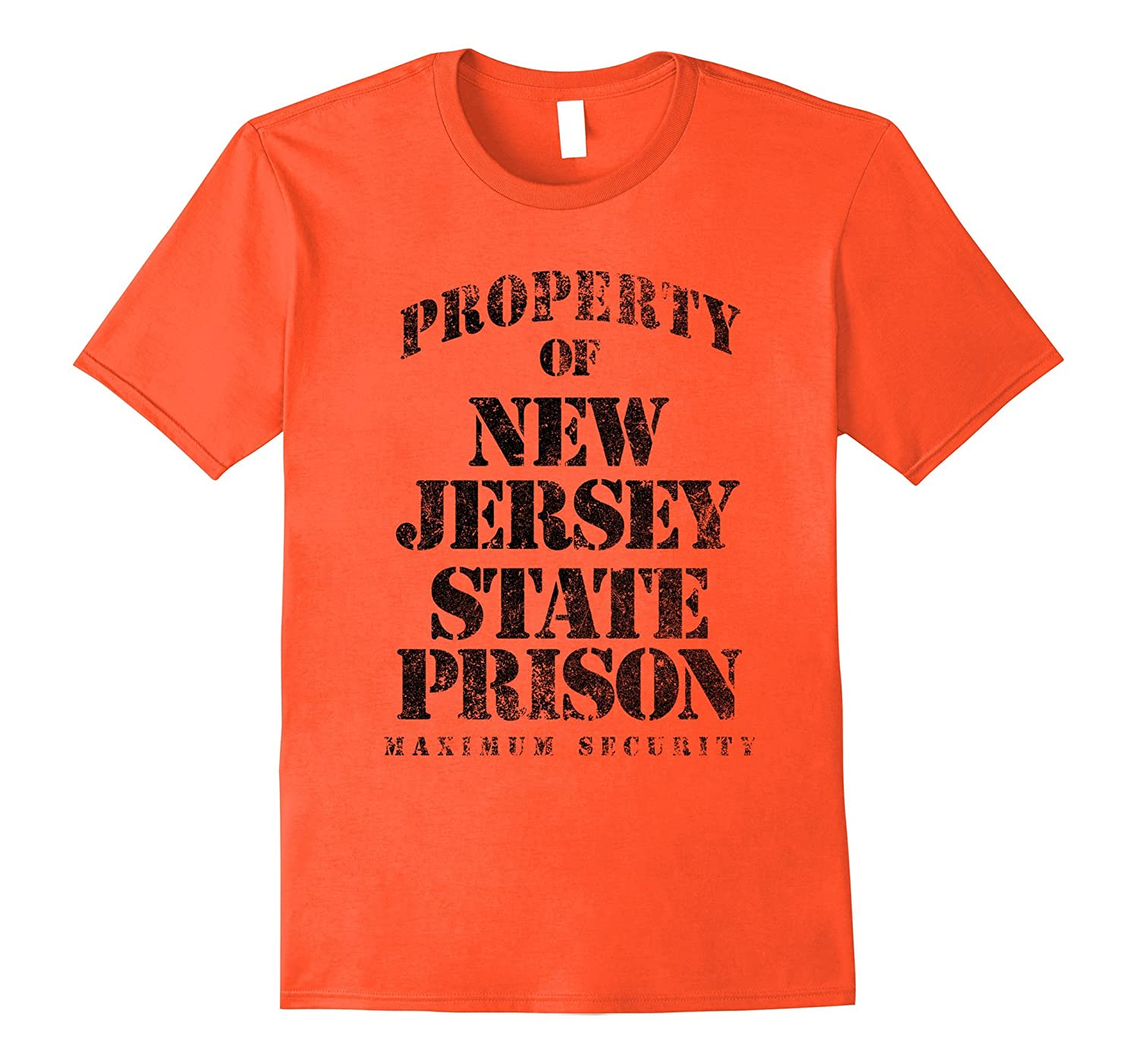 Property of New Jersey Prison Funny T-Shirt-TH