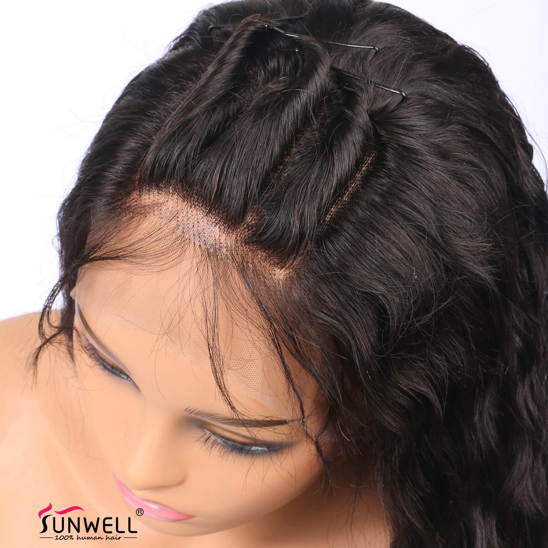 Amazon Full Lace Human Hair Wigs For Black Women Sunwell