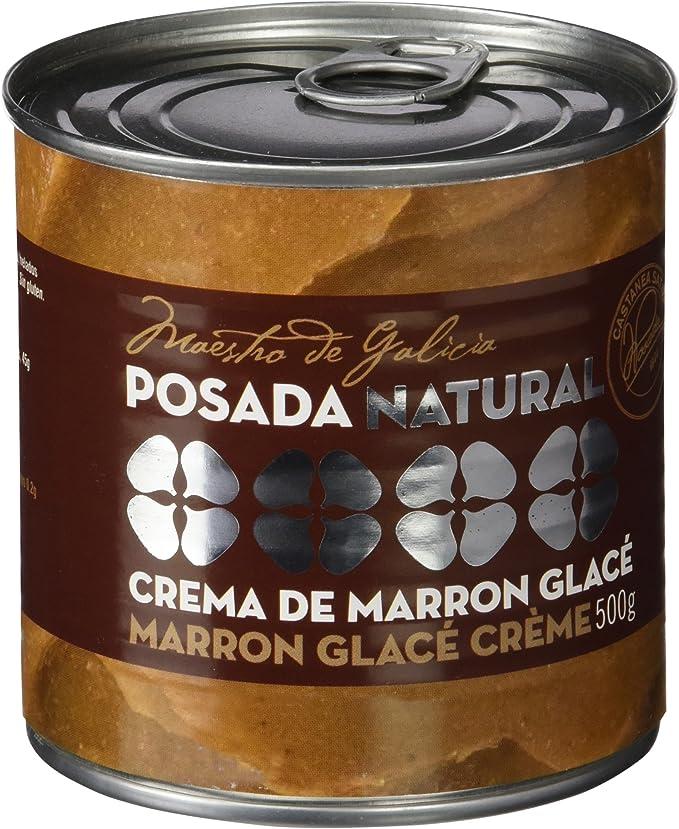 Posada Crema de Marrón Glacé - 500 gr: Amazon.es ...