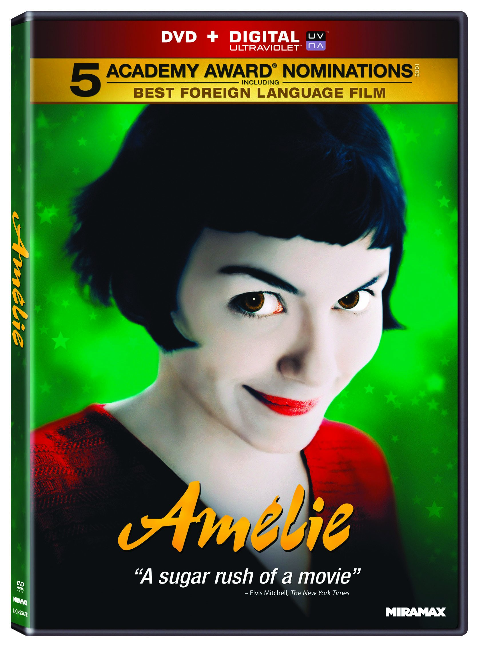 DVD : Amélie (Widescreen, AC-3, Dolby)