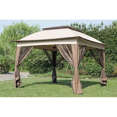 Sunjoy Replacement Canopy Set for 11x 11ft POP UP Gazebo : Garden & Outdoor