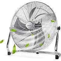 Aigostar Clover 33QNV - Ventilador Industrial Power Fan, 100W 3 Velocidades Ventilador de Suelo Silencioso, Ajustable…