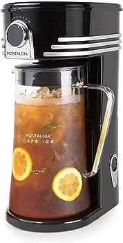 Nostalgia Class Black Iced Tea Maker