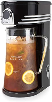 Nostalgia CI3BK Iced Coffee Maker