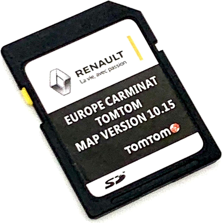 Última tarjeta SD para Renault Tom Tom 2020 SD tarjeta de navegación por satélite versión 10.15 Cover All Europe – Megane Clio, Laguna, Scenic, Kangoo, FLUENCE ESPACE, TRAFFIC, MASTER, MASCOTT, KOLEOS: Amazon.es: Electrónica