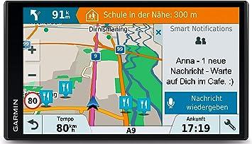 Garmin Drive Smart 61 Lmt D Eu Navigationsgerät Europa Karte Lebenslang Kartenupdates Und Verkehrsinfos Smart Notifications 6 95 Zoll 17 7 Cm Touchdisplay 010 01681 13 Navigation